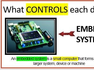 GCSE Computer Science - Systems Architecture Embeddeded Systems