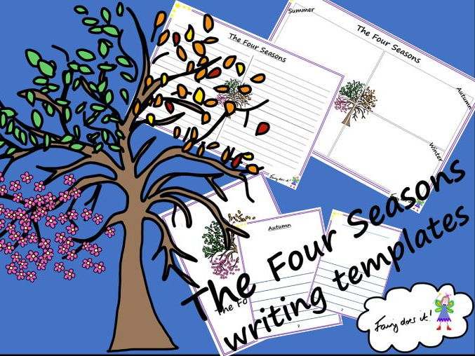 The Four Seasons Planning and Writing Templates