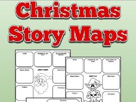 Christmas Story Maps: Santa, Elves and Reindeer