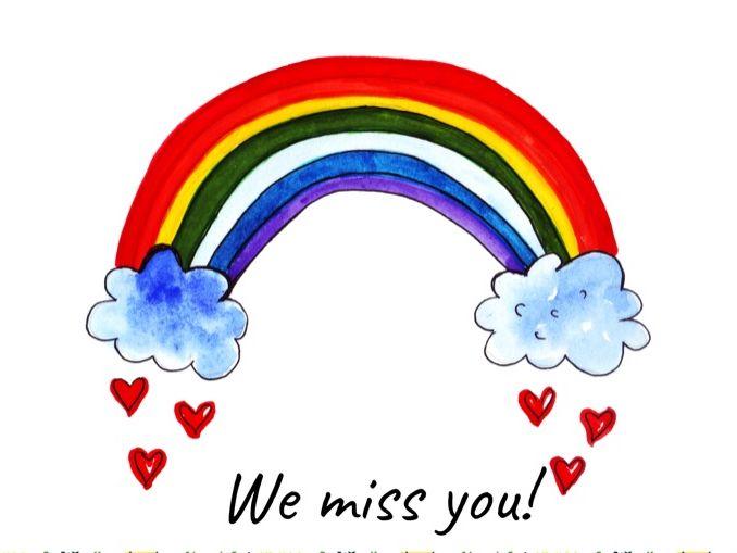 We miss you! Digital Certificate