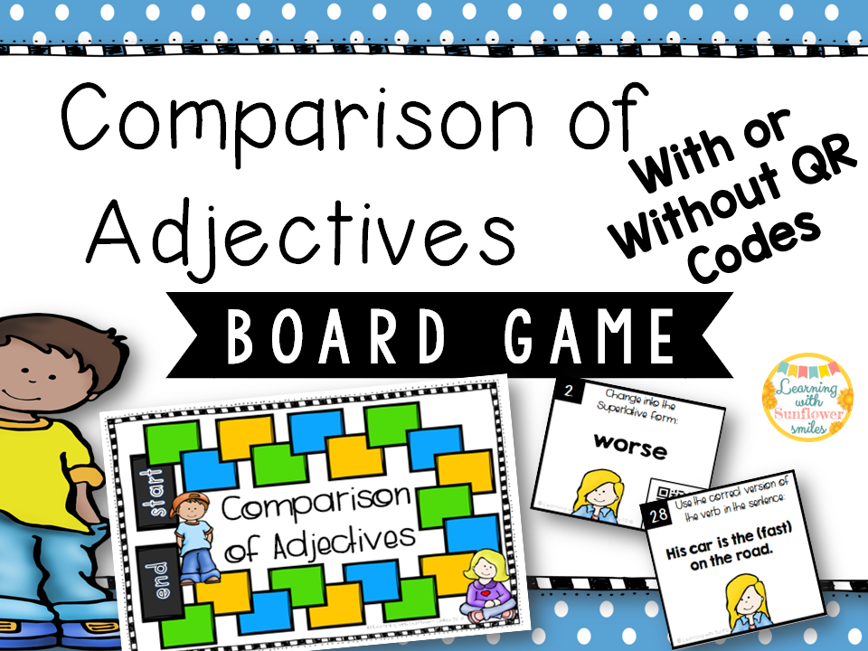 Degree of Comparison Board Game
