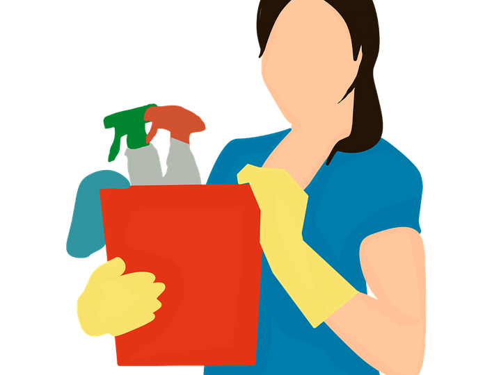Las tareas domésticas - presentation and worksheet