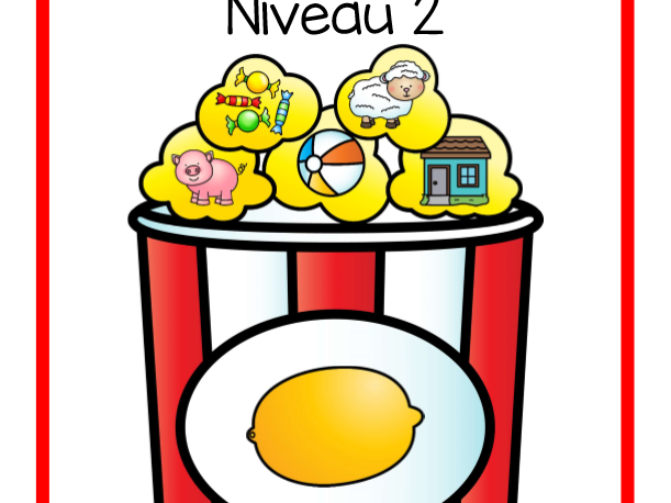 Je rime avec...  Niveau 2  (Final Sound in French Level 2)