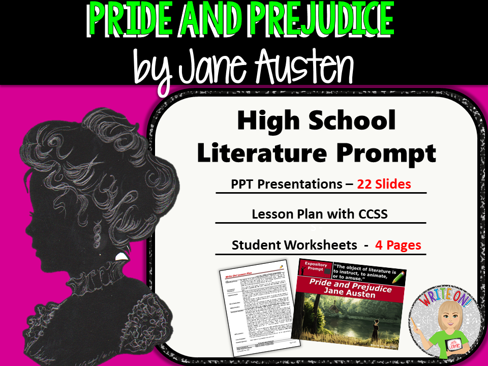 Pride and Prejudice by Jane Austen - Text Dependent Analysis Expository Writing