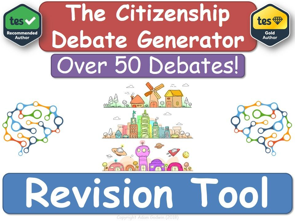GCSE Citizenship - Revision Debate Generator! [Citizenship, GCSE, KS4, Revision]
