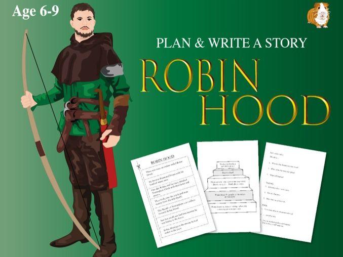 Write A Story Robin Hood (6-9 years)