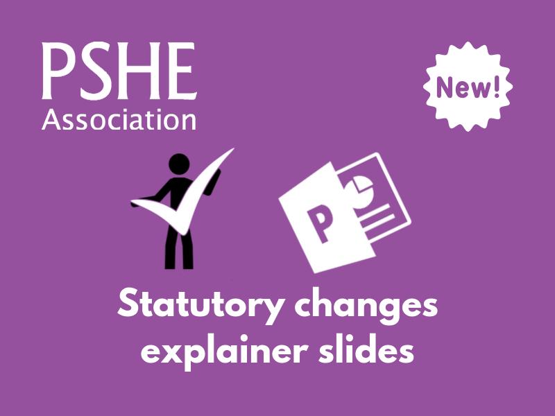 PSHE KS1&2 Explainer slides on statutory PSHE changes and the new Ofsted framework