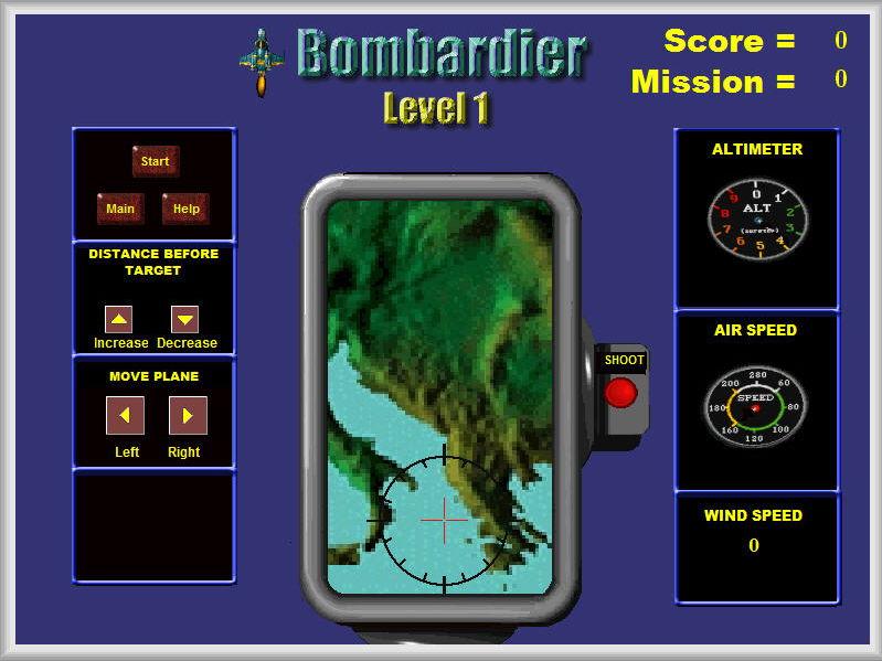 hysics - Bombardier Game - PC and MAC Flash Version