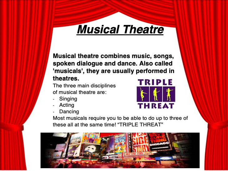 Musical Theatre Lessons