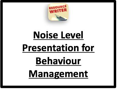 Noise Levels Presentation
