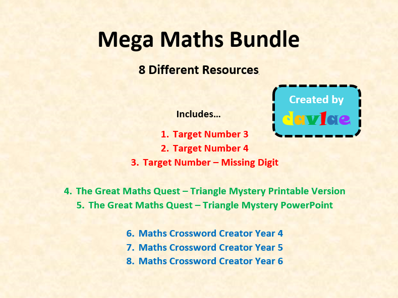 Mega Maths Bundle