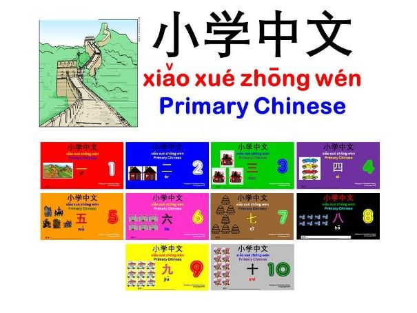 Primary Mandarin: Numbers 1-10