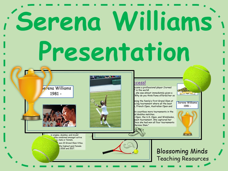 Serena Williams Presentation - Black History Month