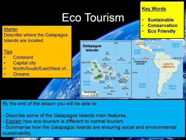 Blue Planet - Eco Tourism in the Galapagos Islands