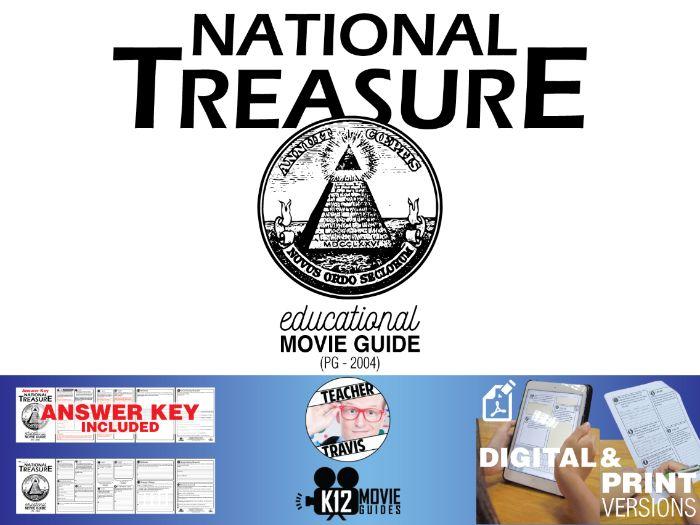 National Treasure Movie Guide | Questions | Worksheet (PG - 2004)