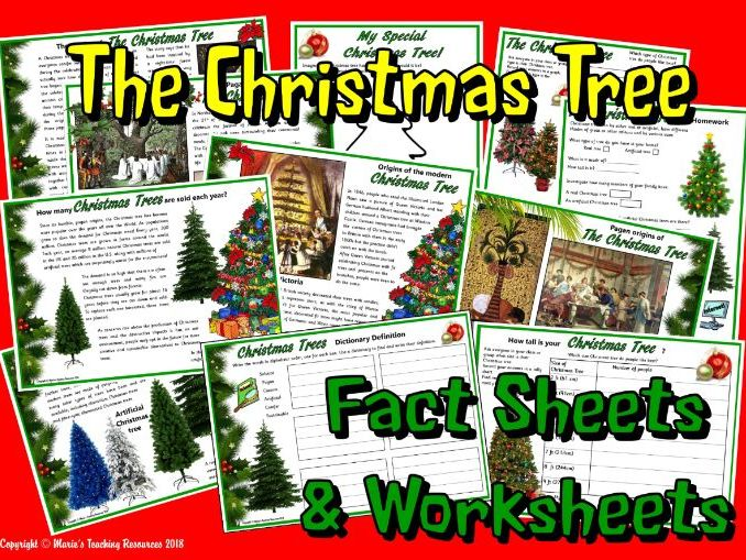 The Christmas Tree - Facts & Activities  KS2
