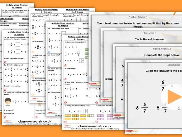 Year 5/6 Mixed Age Spring Block 1 Step 18 Lesson Pack