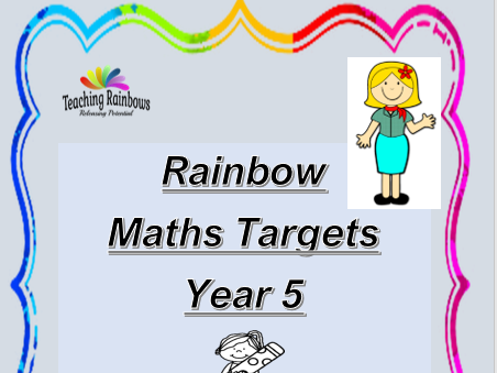 Year 5 - Maths Targets
