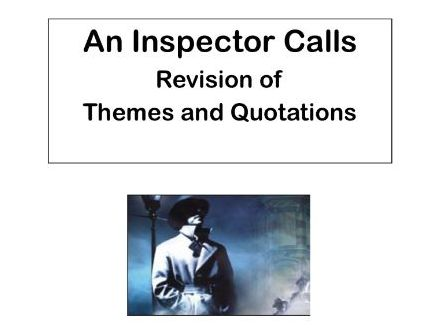 AQA An Inspector Calls:  Theme of Gender