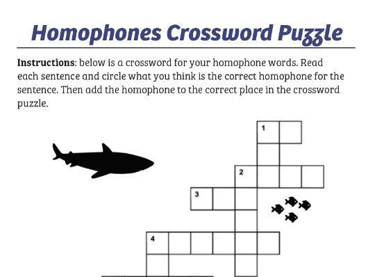 Homophones Games Book