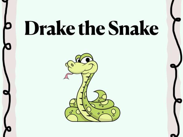 Fun Vocal Warmup song - Drake the Snake