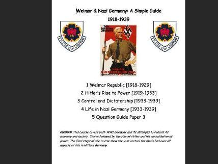 Weimar/Nazi (Edexcel) Complete Guide
