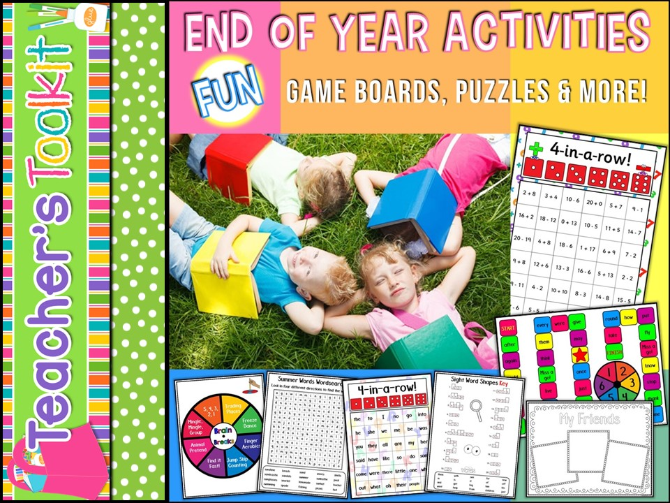 End Of Year: End Of Year Fun Activities