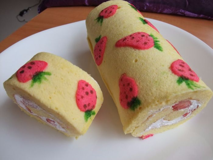 Swiss roll practical lesson