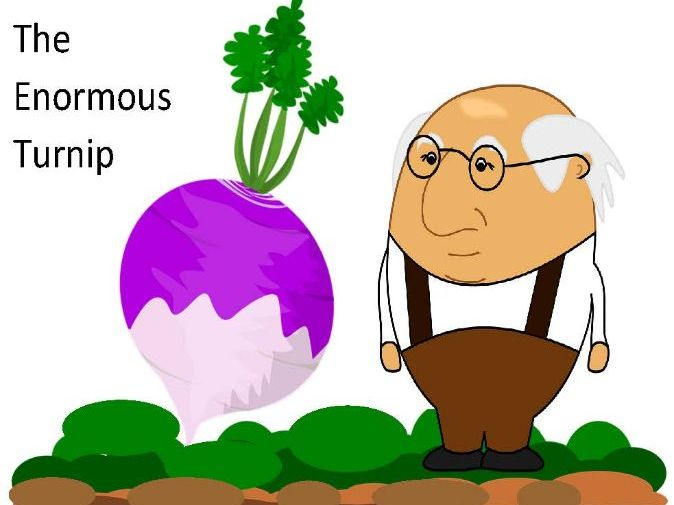 The Enormous Turnip Activities