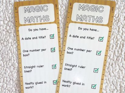Maths Editing Rulers