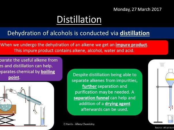 NEW AQA Yr1 Alcohols Revision