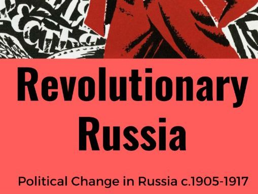 Russia c.1905-1917 Sources and Interpretations Booklet for KS3 (KS4 Skills)