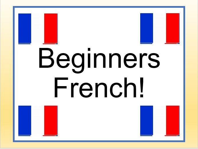 French beginners unit of work