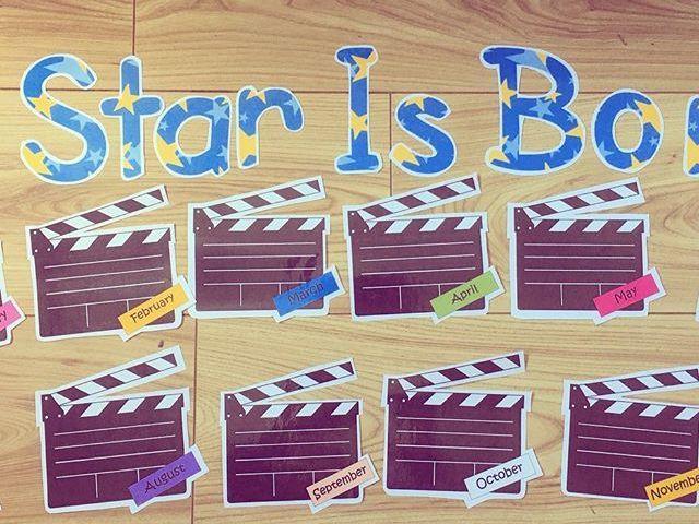 Birthday Display (A star is born)