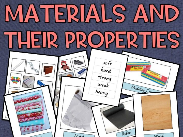 Materials and their Properties Resource Pack