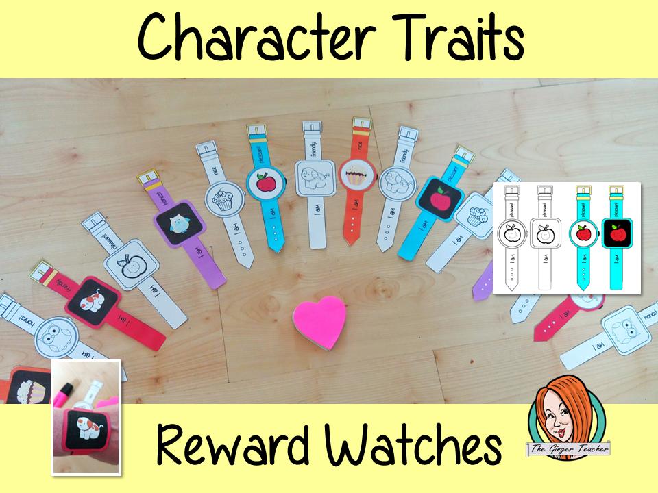 Character Traits Reward Watches