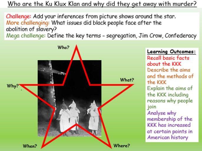 Ku Klux Klan - KKK