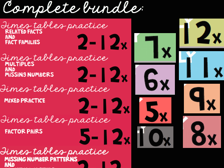 Ultimate Times Tables Bundle