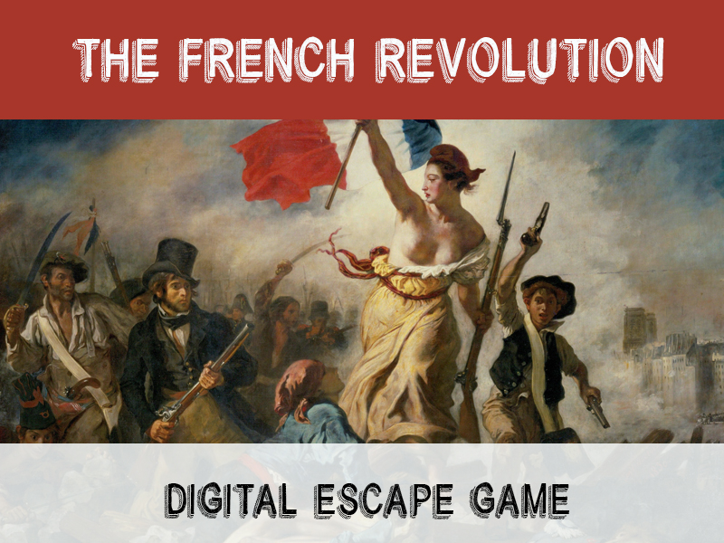 Digital Escape Game - The French Revolution