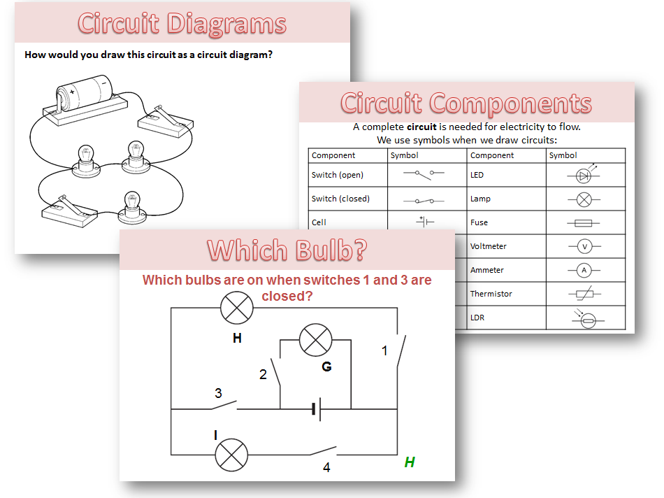 Circuit diagrams and symbols by amcooke - Teaching Resources - Tes