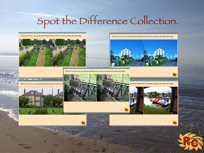Spot the Difference Game Collection A
