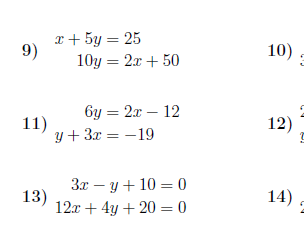 8 GCSE/IGCSE worksheets (with solutions) on straight lines