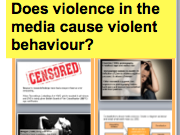 *FULL LESSON* Does violence in the media cause violent behaviour? A-Level Sociology Mass Media