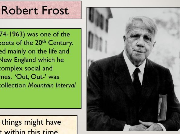 IGCSE 'Out, Out -' Robert Frost Analysis Practice