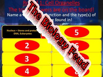 Biology Family Feud Final Exam Review Game Part 2