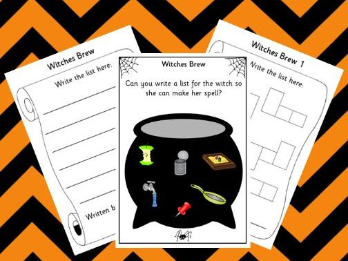 Halloween Phonics: Phase 2 Witches Brew