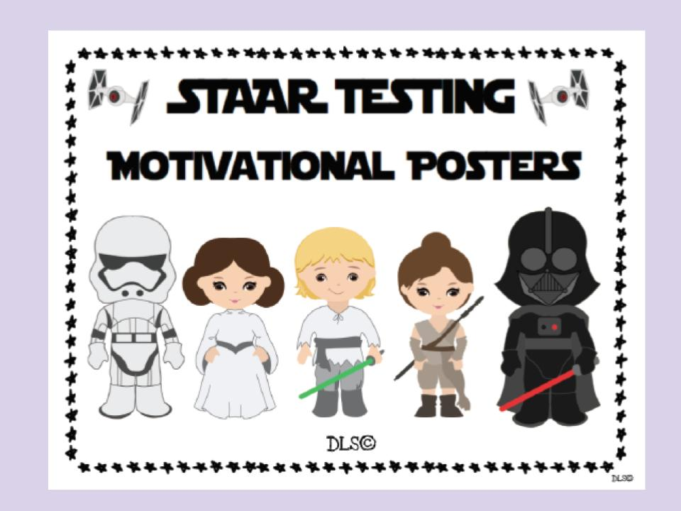STAR WARS - STAAR Motivational Posters