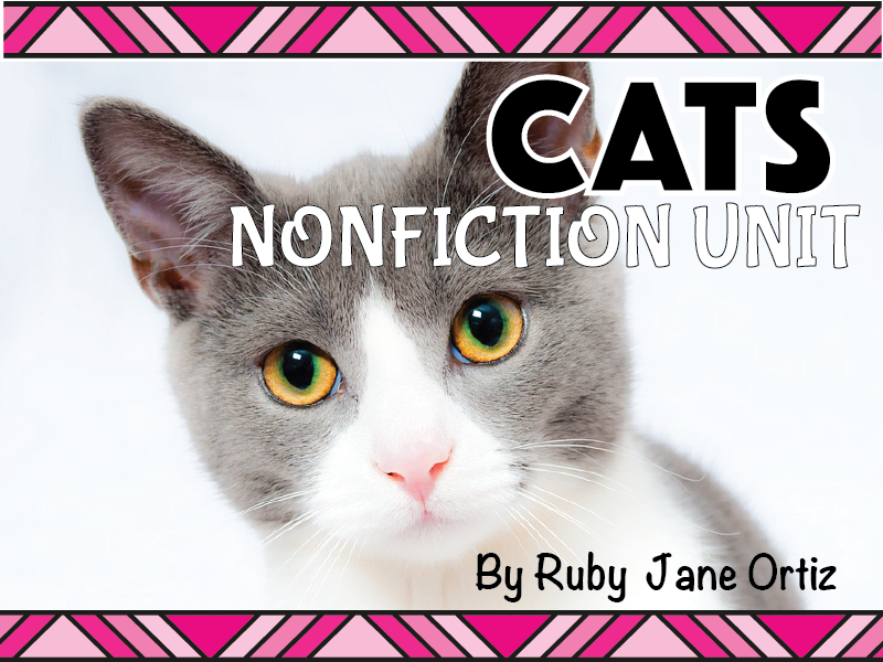 Cat Nonfiction Unit