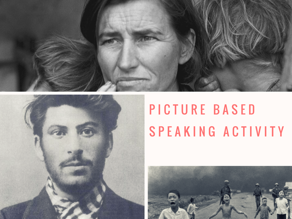 ESL/EFL Speaking Activity Based On Iconic Photos