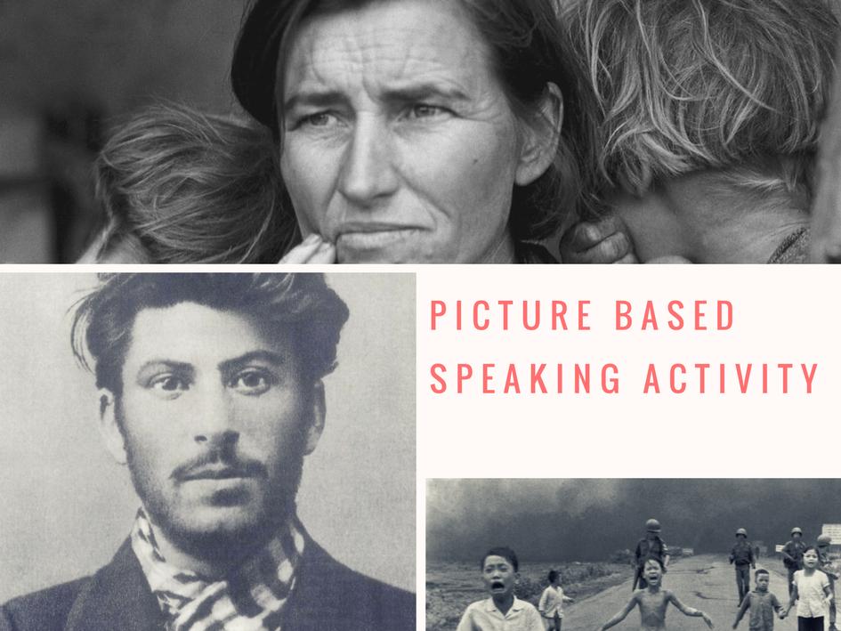 ESL/EFL Speaking Activity Based On Iconic Photos